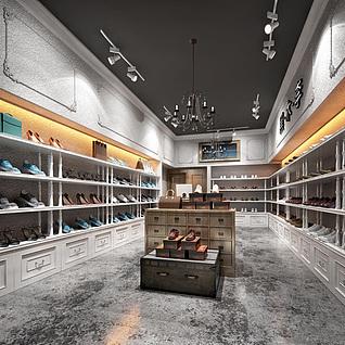 鞋店整体模型