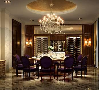 欧式豪华餐厅整体