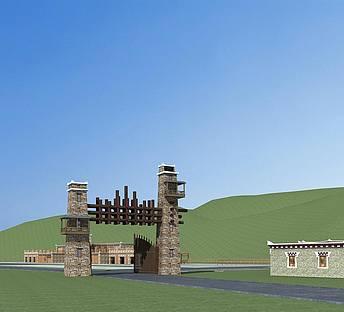 藏族游客接待中心