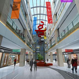 商场整体模型