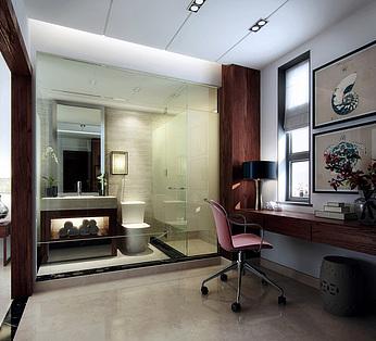 透明卫生间