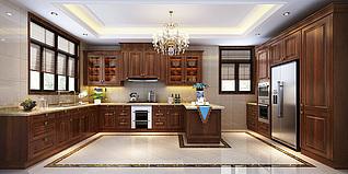 厨房家装模型