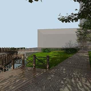 园林景观3d模型