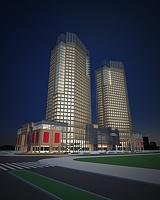 商业楼建筑3d模型