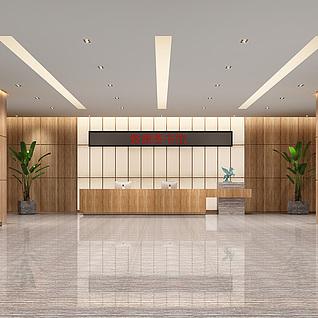图书馆大厅整体模型