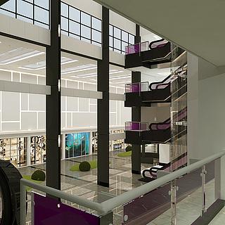 大厅设计整体模型