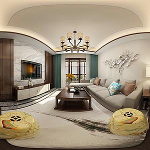 客餐廳3d模型