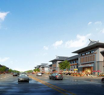 朝族酒店商业街