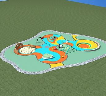 儿童游乐区