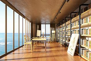 书房3d模型