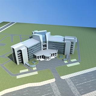 办公楼整体模型