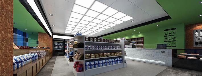 商场超市3d模型