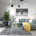北欧沙发客厅3d模型