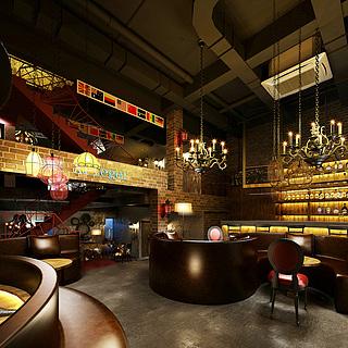 酒吧整体模型