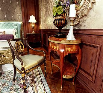 欧式卧客厅