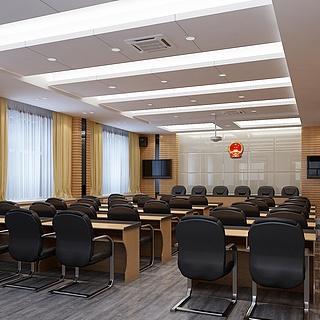 多媒体会议室整体模型