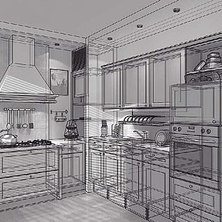 室内场景模型3d模型