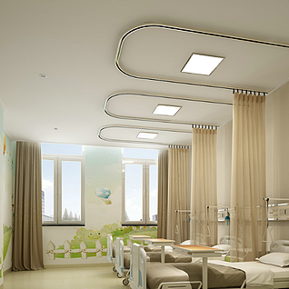 医院整体模型