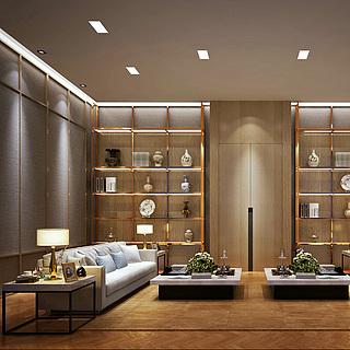 VIP会客室整体模型