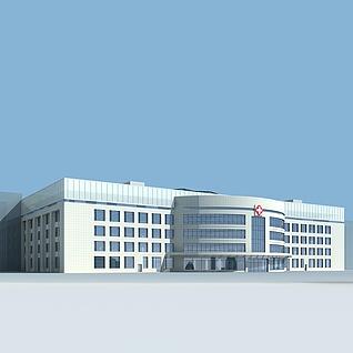 医院模型整体模型