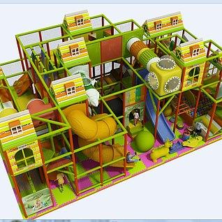 淘气堡3d模型