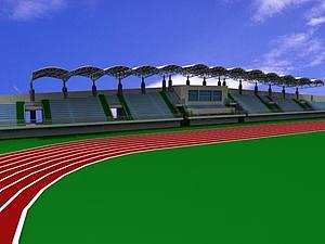 体育场3d模型
