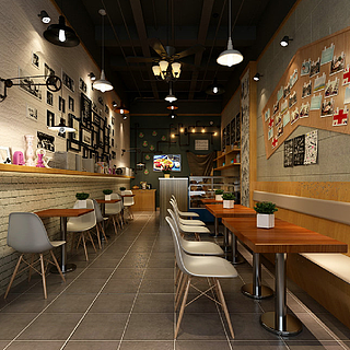<font class='myIsRed'>现代餐厅</font>整体模型