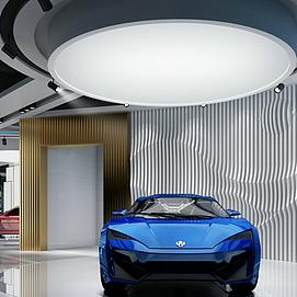車展整體模型