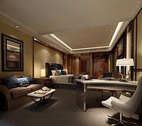 酒店客房3d模型
