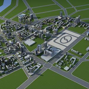 <font class='myIsRed'>城市規劃</font>整體模型