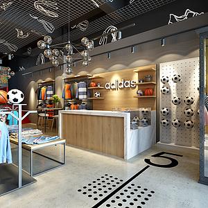 Loft服装店3d模型