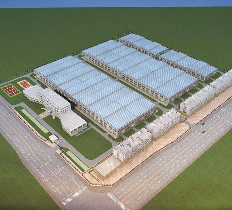 工业厂房模型