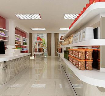 工装,室内,场景,商场超市