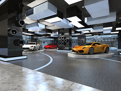 <font class='myIsRed'>汽車</font>展廳整體模型