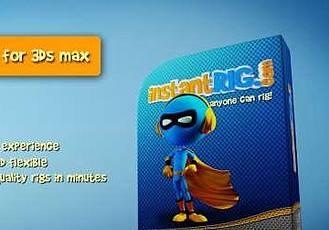 自動綁定插件 InstantRig v1.5.2 for 3DS MAX 2014 – 2019