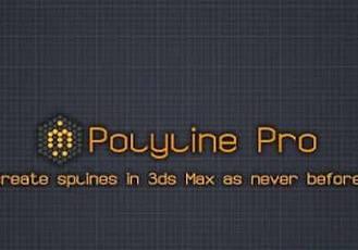 3DS MAX樣條線制作生成插件 miauu's Maxscript Polyline Pro V1.2-V1.4