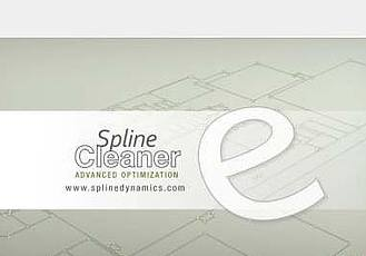 3DS MAX样条线整理管理插件 Spline Cleaner V1.67 for 3DS MAX 2012 – 2018