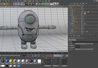 C4D模型角色綁定插件 Cactus3D Complete for Cinema4D R15-R16 Win/Mac