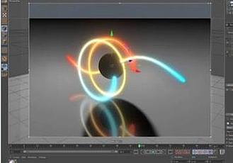 C4D樣條線體積燈光插件 Tools4D White Lights v2.50 Win/Mac + 使用教程