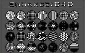 178種C4D材質預設 Biomekk EnhanceC4D v1.03.230 R15/R16/R17 Win/Mac