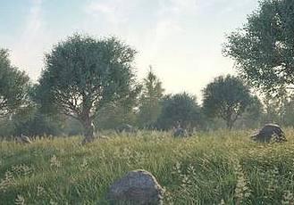 C4D植物樹木草地石頭生成制作插件 3DQUAKERS – Forester v1.1.0 – C4D R14/R15/R16/R17 Win