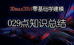 3Dmax2014零基础学建模-029样条线-挤出类型及点知识总结