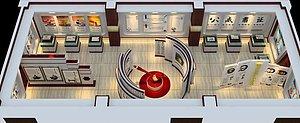 展館模型修改及素材添加