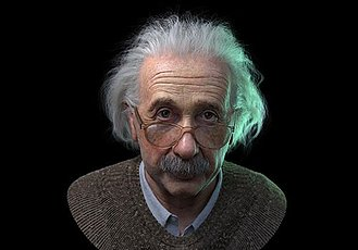 使用ZBrush制作伟大的科学家爱因斯坦头像模型