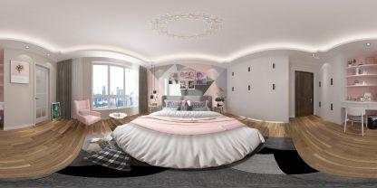 現代家裝臥室